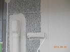 UVカット効果のあるシリコン塗装 外壁 色分け1色目 中塗り