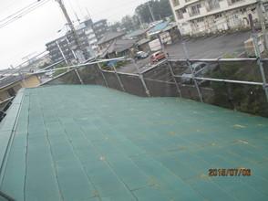 宇都宮市 住宅様 屋根 塗り替え塗装工事